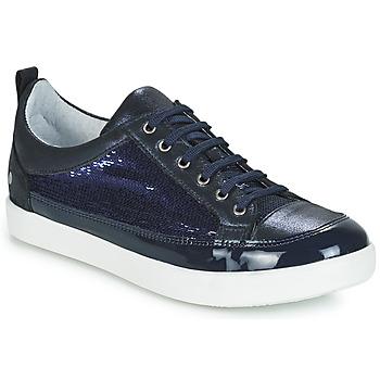 Schuhe Mädchen Klassische Stiefel GBB ISIDORA Marine / Dpf / 2706