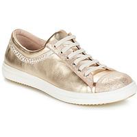 Schuhe Mädchen Boots GBB GINA Beige / gold / Dpf / 2835