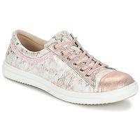 Schuhe Mädchen Boots GBB GINA Rosa-grau / Dpf / 2835