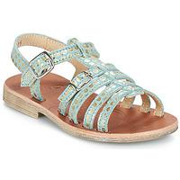 Schuhe Mädchen Sandalen / Sandaletten GBB BANGKOK Grün / Gold