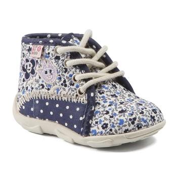 Schuhe Mädchen Hausschuhe GBB PAT Ttx / Marine-blume / Dtx / Amis