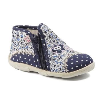 Schuhe Mädchen Hausschuhe GBB PILI Ttx / Marine-blume / Dtx / Amis