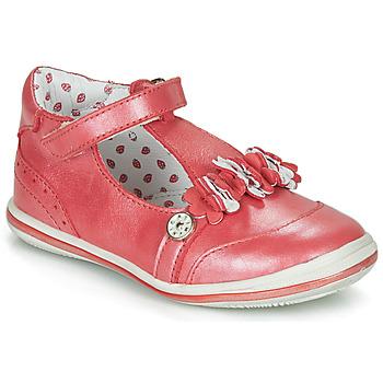 Schuhe Mädchen Ballerinas Catimini SANTOLINE Rot / Perlmut / Dpf / 2851