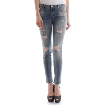 Kleidung Damen Slim Fit Jeans Met COLLY D1121 E129 6438 JEANS Damen DENIM LIGHT BLUE DENIM LIGHT BLUE