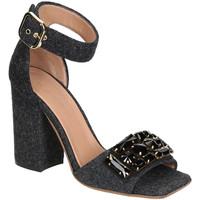 Schuhe Damen Sandalen / Sandaletten Marni SAMSV08C10 TW600 ZI768 Grigio scuro