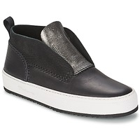 Schuhe Damen Sneaker High Barleycorn CLASSIC Schwarz