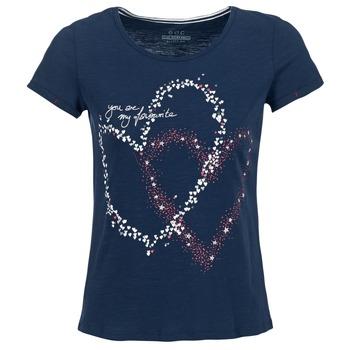 Kleidung Damen T-Shirts Esprit WEJA Marine