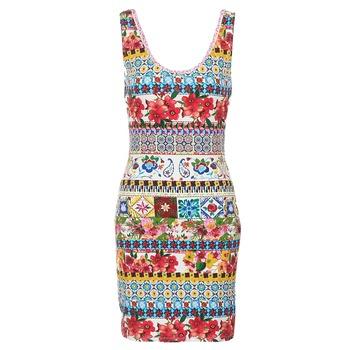Kleidung Damen Kurze Kleider Desigual OCONDE Multicolor