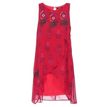 Kleidung Damen Kurze Kleider Desigual DORIJE Rot