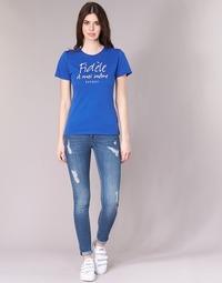 Kleidung Damen Slim Fit Jeans Kaporal LOKA Blau