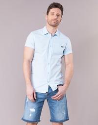 Kleidung Herren Kurzärmelige Hemden Kaporal LOGIK Blau