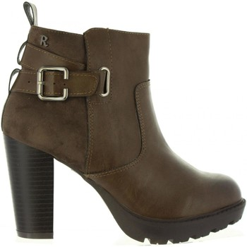 Schuhe Damen Low Boots Refresh 63632 Marrón