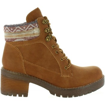 Schuhe Damen Low Boots Refresh 63998 Marrón
