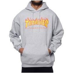 Kleidung Herren Sweatshirts Thrasher SUDADERA  FLAME LOGO Grau