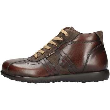 Schuhe Herren Slipper Valleverde 49802 Braun