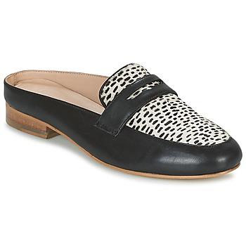 Schuhe Damen Pantoffel Maruti BELIZ Schwarz / Weiss