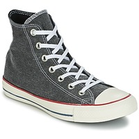 Schuhe Sneaker High Converse Chuck Taylor All Star Hi Stone Wash Grau