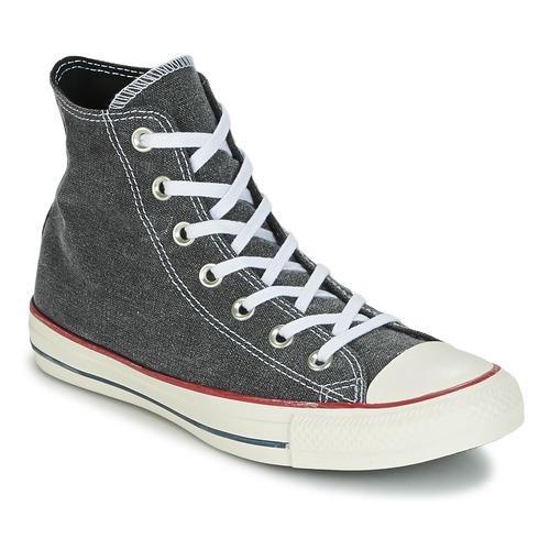 Converse Chuck Taylor All Star Hi Stone Wash Grau  59,99 Schuhe Sneaker High  59,99  1c27d3