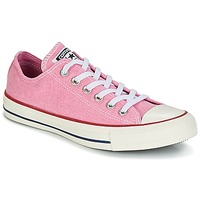 Schuhe Damen Sneaker Low Converse Chuck Taylor All Star Ox Stone Wash Rose