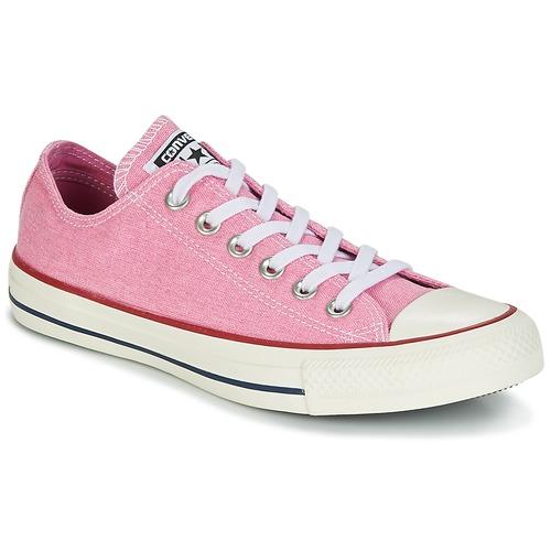 Converse Chuck Taylor All Star Ox Stone Wash Rose  Schuhe Sneaker Low Damen 62,99