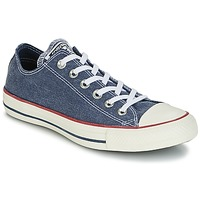 Schuhe Sneaker Low Converse Chuck Taylor All Star Ox Stone Wash Marine