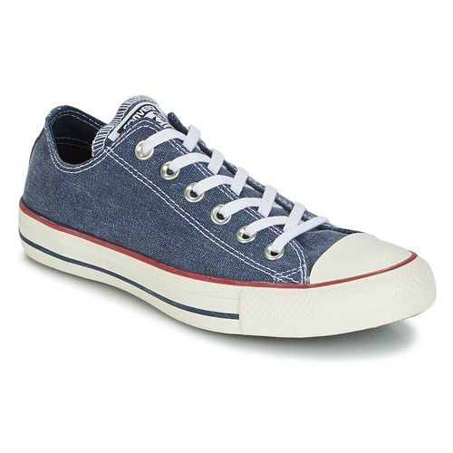 Converse Chuck Taylor All Star Ox Stone Wash Marine  Schuhe Sneaker Low  55,99