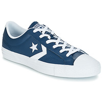 Schuhe Sneaker Low Converse Star Player Ox Leather Essentials Marine