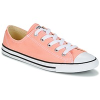 Schuhe Damen Sneaker Low Converse Chuck Taylor All Star Dainty Ox Canvas Color Rose