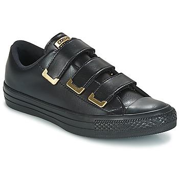 Schuhe Damen Sneaker Low Converse Chuck Taylor All Star 3V Ox SL + Hardware Schwarz / Goldfarben