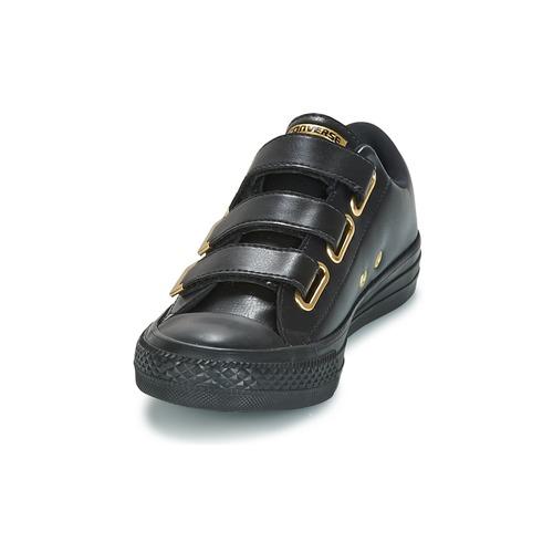 Converse Chuck Taylor All Star 3V Ox / SL + Hardware Schwarz / Ox Goldfarben  Schuhe Sneaker Low Damen 59,49 3f9e4d