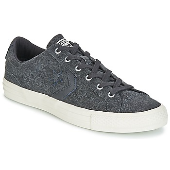 Schuhe Herren Sneaker Low Converse Star Player Ox Fashion Textile Grau