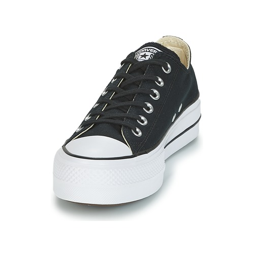Converse Chuck Taylor All Star Lift Clean Ox Core Canvas Low Schwarz  Schuhe Sneaker Low Canvas Damen 71,99 b69b9c