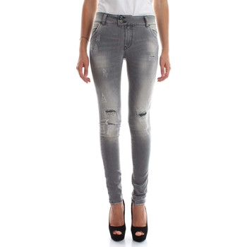 Kleidung Damen Boyfriend Jeans Met H-K-FIT D1052 G756 6336 JEANS Damen DENIM GREY DENIM GREY