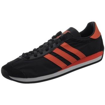 Schuhe Herren Sneaker Low adidas Originals Country OG Schwarz-Rot