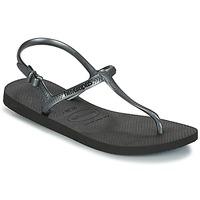 Schuhe Damen Sandalen / Sandaletten Havaianas FREEDOM SL Schwarz