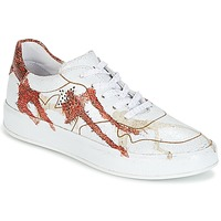 Schuhe Damen Sneaker Low Felmini CRASKY Weiss / Rot