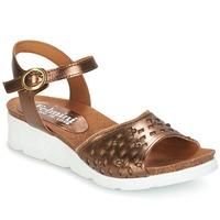 Schuhe Damen Sandalen / Sandaletten Felmini BRONZINO Bronze
