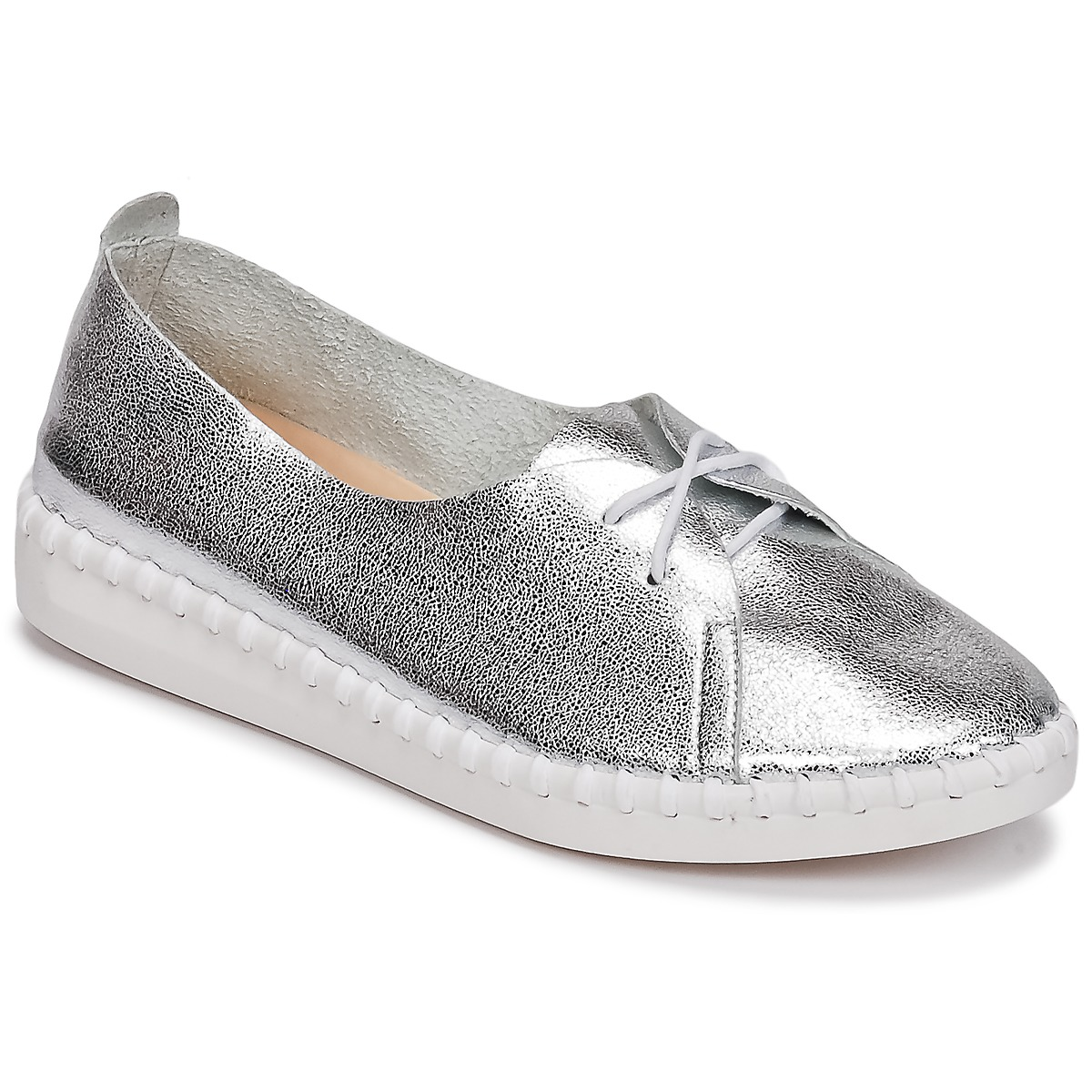 LPB Shoes DEMY Silbern - Kostenloser Versand bei Spartoode ! - Schuhe Derby-Schuhe Damen 31,49 €