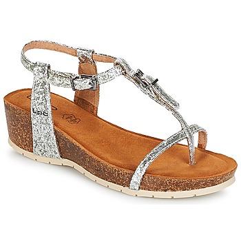 Schuhe Damen Sandalen / Sandaletten LPB Shoes KISS Silbern