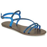 Schuhe Damen Sandalen / Sandaletten Les Petites Bombes NELLY Blau