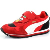 Schuhe Kinder Sneaker Low Puma KIDS ST RUNNER SESAMS Rouge