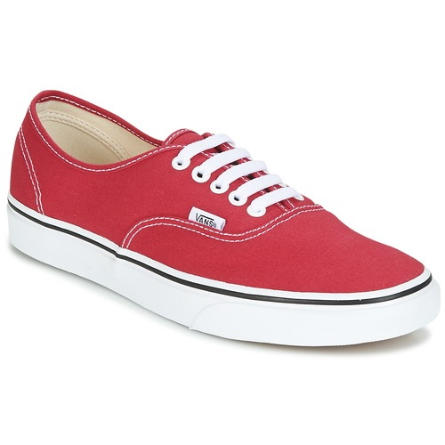 Vans AUTHENTIC Rot  Schuhe Sneaker Low  55,99