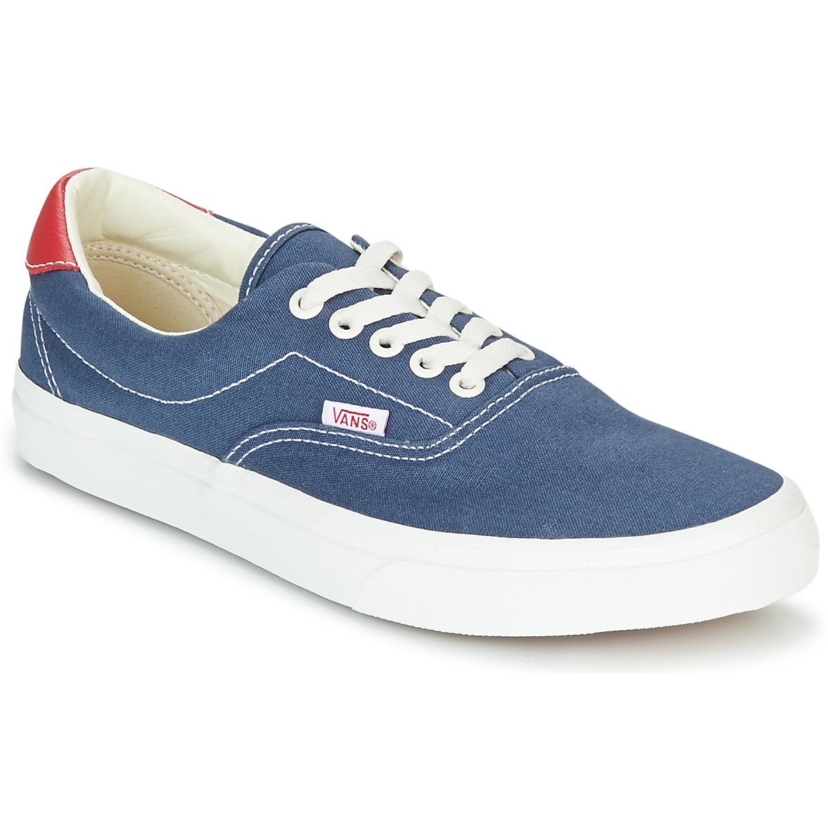 Vans ERA Blau - Kostenloser Versand bei Spartoode ! - Schuhe Sneaker Low  52,49 €