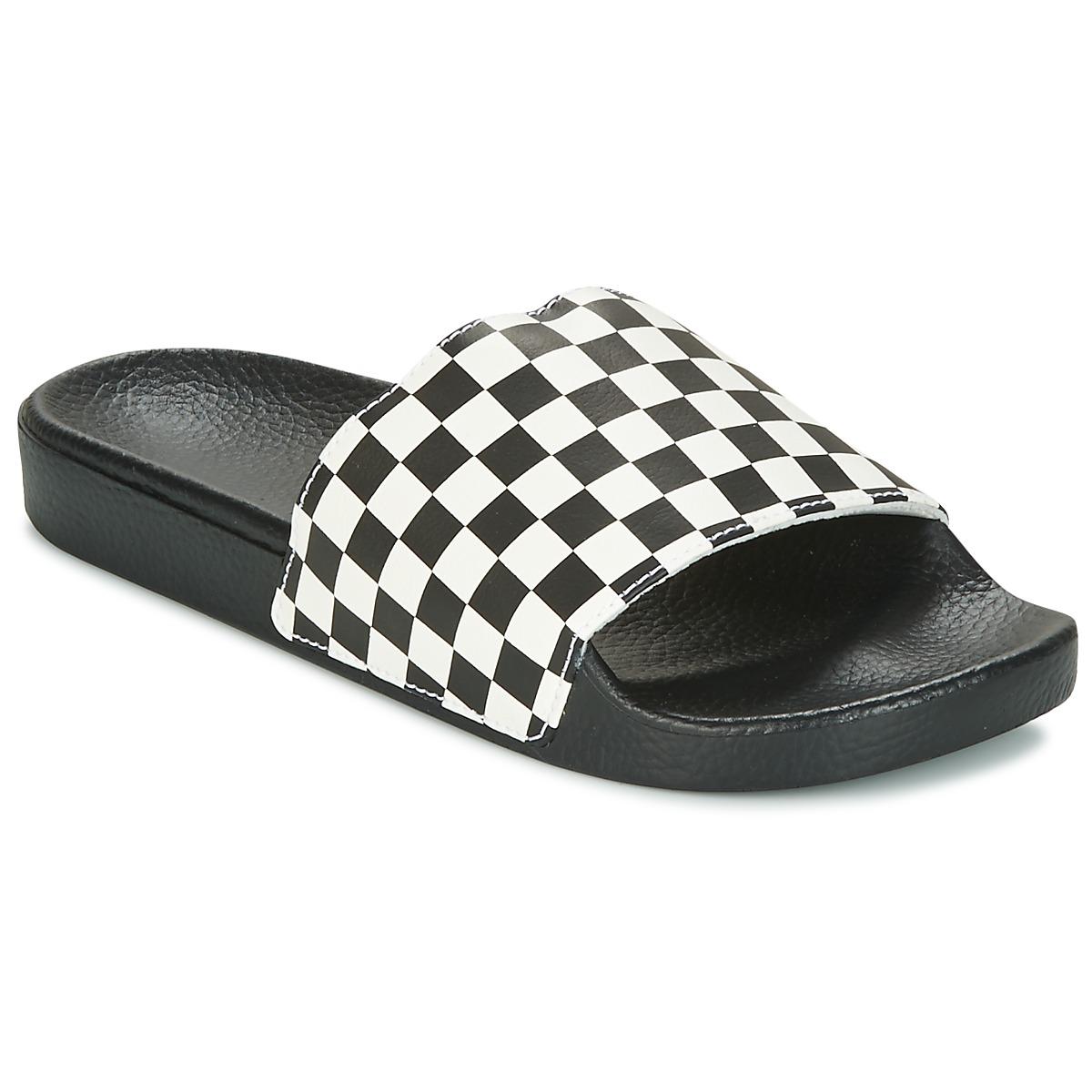 Vans MN SLIDE-ON Schwarz - Kostenloser Versand bei Spartoode ! - Schuhe Pantoffel Herren 28,00 €