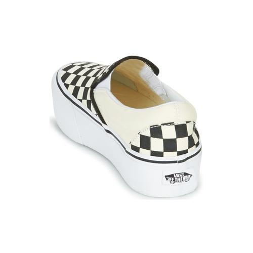 Vans SLIP-ON PLATFORM Schwarz / Weiss  Schuhe Slip on Damen 74,99