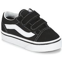 Schuhe Kinder Sneaker Low Vans OLD SKOOL V Schwarz