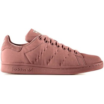 Schuhe Damen Sneaker Low adidas Originals STAN SMITH W ROSA NATURAL Rosa