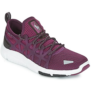 Schuhe Damen Sneaker Low Polo Ralph Lauren TRAIN 200 Violett