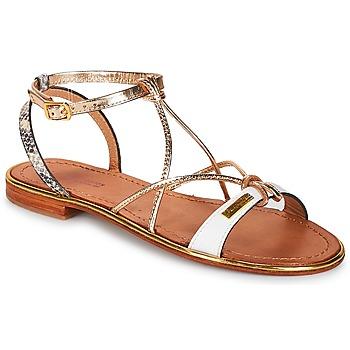 Schuhe Damen Sandalen / Sandaletten Les Tropéziennes par M Belarbi HIRONDEL Weiss