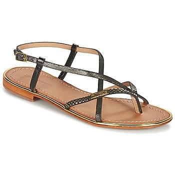 Schuhe Damen Sandalen / Sandaletten Les Tropéziennes par M Belarbi MONACO Schwarz / Gold